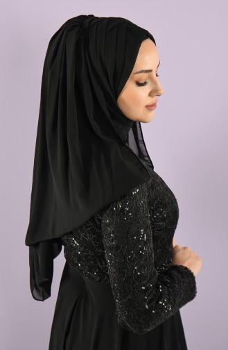 Black Ready to wear Turban 005-02