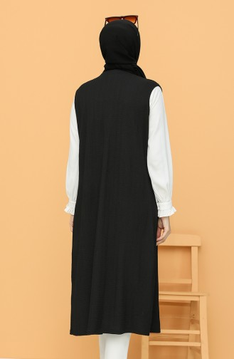 Black Gilet 1491-01