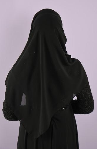 Black Ready to Wear Turban 002-02