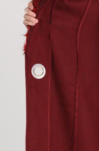 Claret red Lange Jas 5121-03