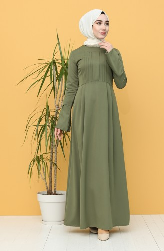 Robe Hijab Khaki 3251-02