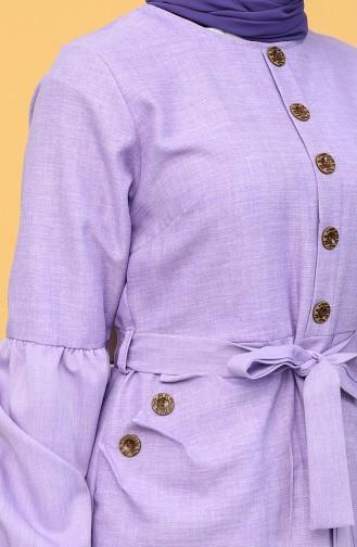 Lilac İslamitische Jurk 21Y8236-06