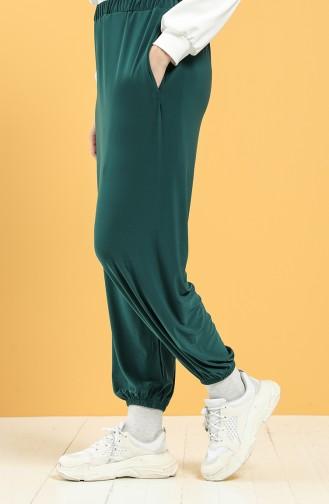 Smaragdgrün Hose 3320-05