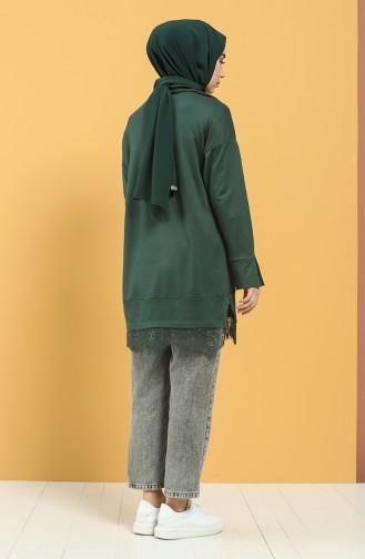Tunique Vert emeraude 8309-04