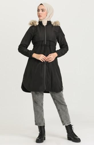 معطف أسود 0829-04