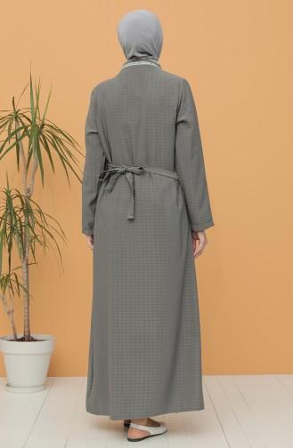 Gray Praying Dress 1001E-01