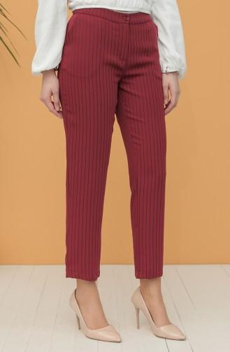 Brick Red Pants 4031-05