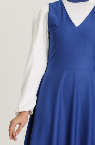 Robe Hijab Blue roi 3247-02