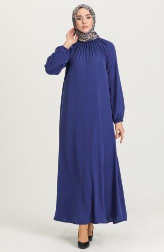 فستان أزرق 3249-01