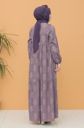 Lilac İslamitische Jurk 21Y8200-08