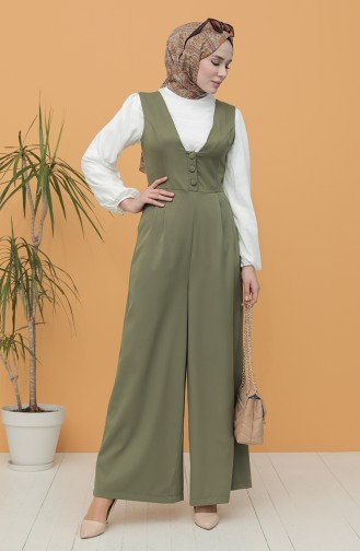 Khaki Overall 3250-02