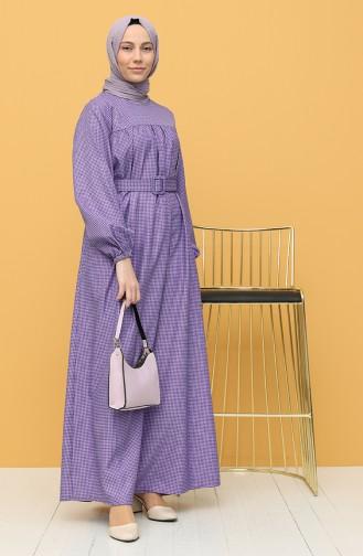 Lila Hijap Kleider 21Y8233-03