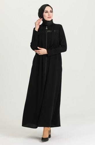 Black Abaya 2037-01