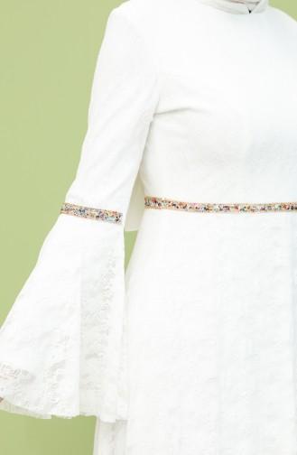فستان أبيض 2052-01
