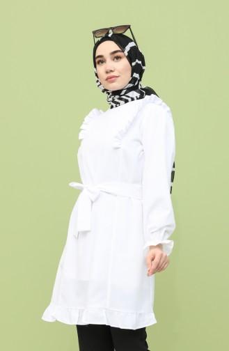 White Tuniek 21Y8217-09