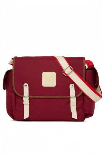 Claret red Baby Care Bag 8682166065929
