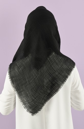 Echarpe Noir 90105-19