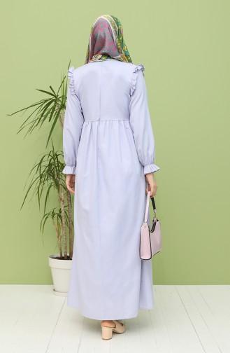 Lilac İslamitische Jurk 21Y8224-03