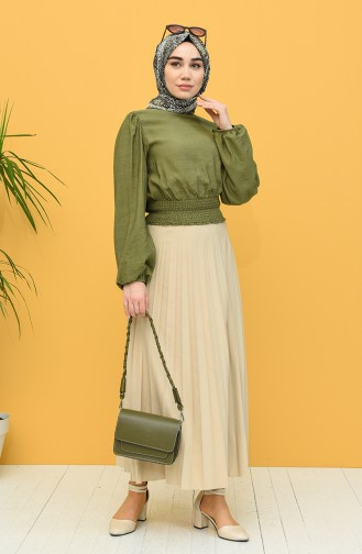Green Blouse 8303-03