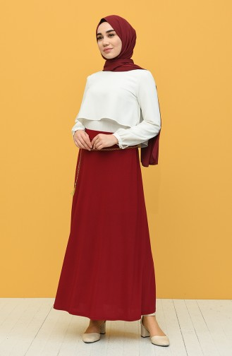 Claret red Rok 3011-01