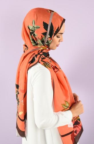 Orange Shawl 8682126061961