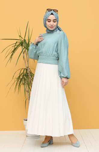 Turquoise Blouse 8303-01