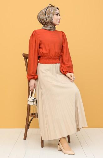 Orange Blouse 8303-05