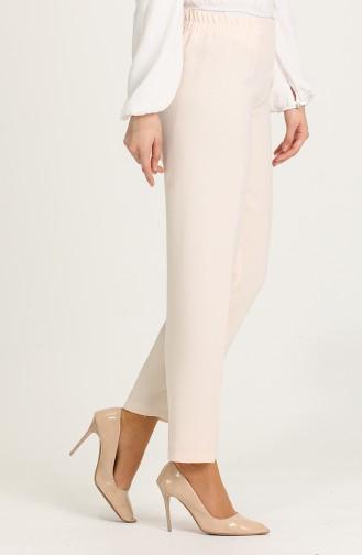 Pantalon Crème 1983D-02