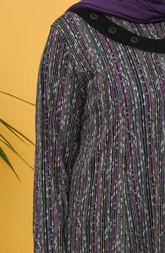 فستان أخضر زمردي 0418-03