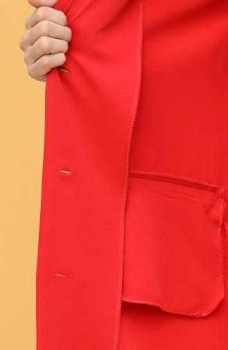 الجاكيت أحمر 4407-01