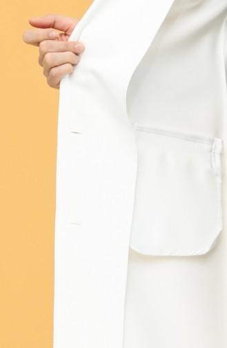الجاكيت أبيض 4407-02