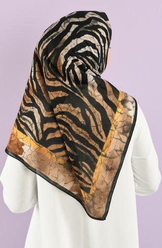 Safran-Farbe Kopftuch 11487-10