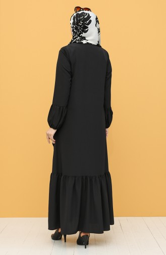 Black Abaya 1407-01