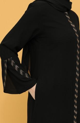 Black Abaya 2038-01