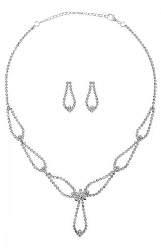 Silver Gray Sieraden 04-0401-48-10-01
