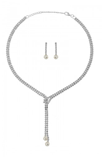 Silver Gray Sieraden 04-0403-48-10-01