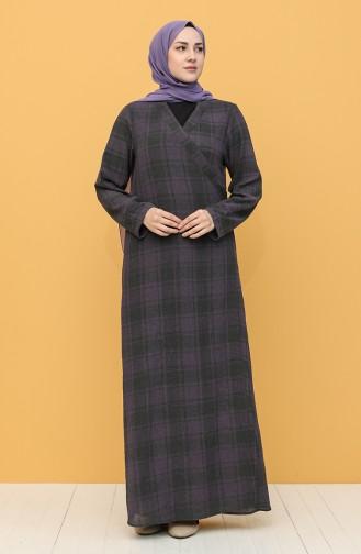 Purple Praying Dress 1004-01