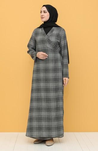 Gray Praying Dress 1004-06