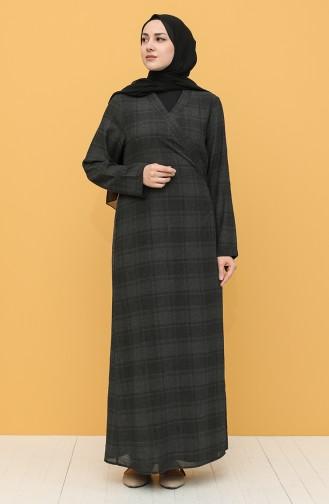 Anthracite Praying Dress 1004-07
