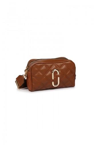 Tan Shoulder Bags 43Z-05