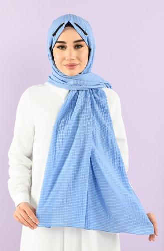 Blau Schal 1001-03
