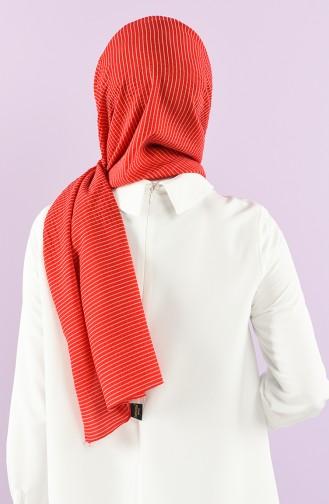 Rot Schal 1001-20