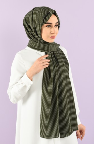 Khaki Schal 1001-24