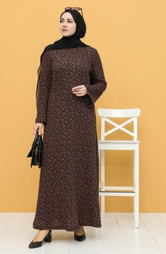 Robe Hijab Noir 1446-01