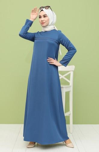 Robe Hijab Indigo 8289-06