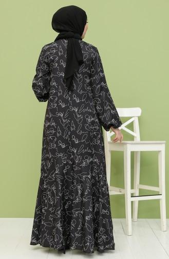 Gray İslamitische Jurk 21931-02