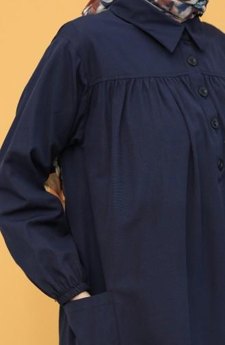 Navy Blue Tuniek 21Y8222-02