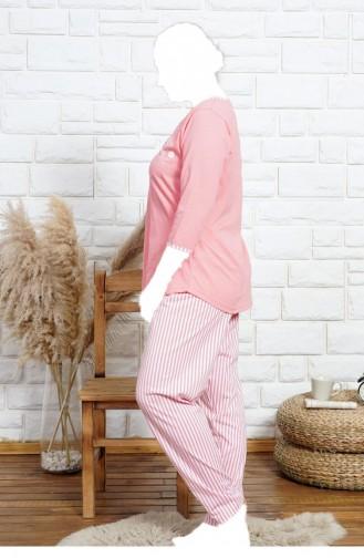 Rosa Pyjama 91691623.PEMBE