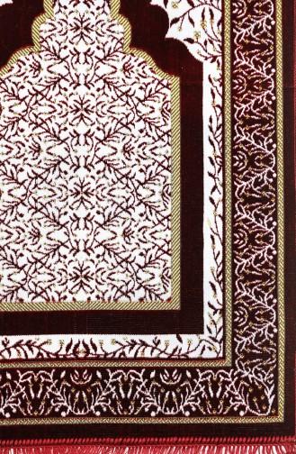 Claret red Praying Carpet 0001-04