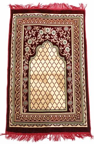 Claret red Praying Carpet 0003-01